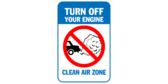 Turn off your engine – clean air zone