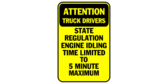 attention truck drivers – state regulation engin