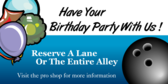 Have Your Birthday Party With Us