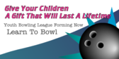 Youth Bowling League Forming Now