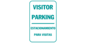 Visitor parking, estacionamiento para visitas