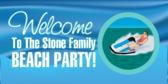 Family Beach Party Jet Ski