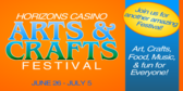 Horizon Casino Art craft festival