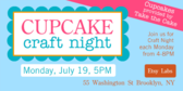 Cupcake Craft Night