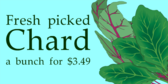 Chard-Vegetable