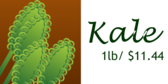 Kale by Pound
