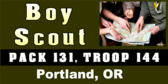 Boy Scout Troop ID Photo