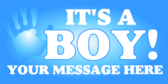 New Baby Boy Message