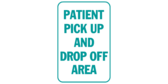 Patient pick up and drop off area