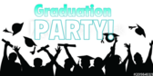 Graduation Party Crowd Banner