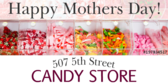 Candy Store Mother's Day Ad
