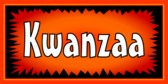 Kwanzaa Burst Orange