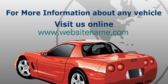 For More Information About Any Vehicle