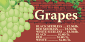 Grapes by the Pound