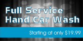 Full Service Hand Car Wash