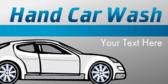 Hand Car Wash Text