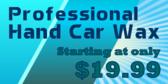 Professional Hand Car Wax