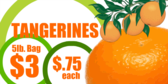 Tangerines for Sale