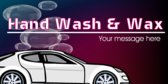 Hand Wash And Wax