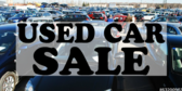 Used Car Sale Brown Pink