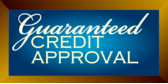 Guaranteed Credit Approval Plaque