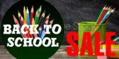 Back to School Sale Pencils