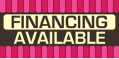 Financing Available Pink