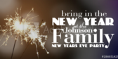 Family New Years Eve Party