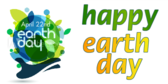 Earth Day Happy