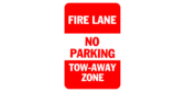 Fire Lane No Parking Tow Away