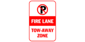 Fire Lane Tow Away Zone