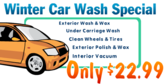 Seasonal Car Wash Special Banner Design