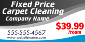 Fixed Price Carpet Cleaning