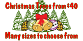 Christmas Trees from $40; Many sizes to choose fro