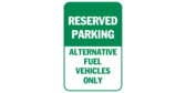 Reserved Parking for Alternative Fuel Vehicles Bas