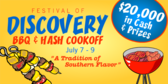Festival of Discovery Barbeque & Hash Cookoff