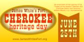 Cherokee Heritage Day