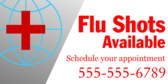 Flu Shots Available with Appointment