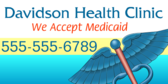 we accept medicaid signs