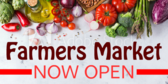 Farmers Market Open Now