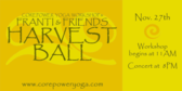 Franti Friends Harvest Ball
