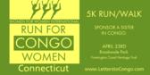 Run/Walk for Congo