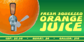 Orange Juice, Freshly Squeezed