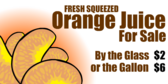 Orange Juice For Sale