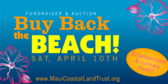 Buy Back the Beach Event