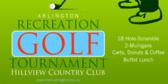 Recreation Golf Tournament