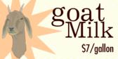 Goat Milk Dairy