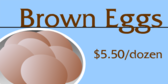 Brown Eggs Dairy
