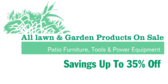 Lawn And Garden Products On Sale
