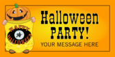 Halloween Party! (Message)